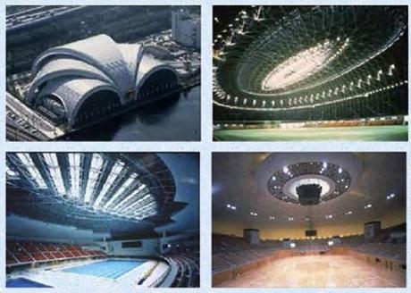 پاورپوینت بررسی فناوریهای نوین و كاربرد سازه های فضاكار در طراحی و اجرای فضاهای ورزشی